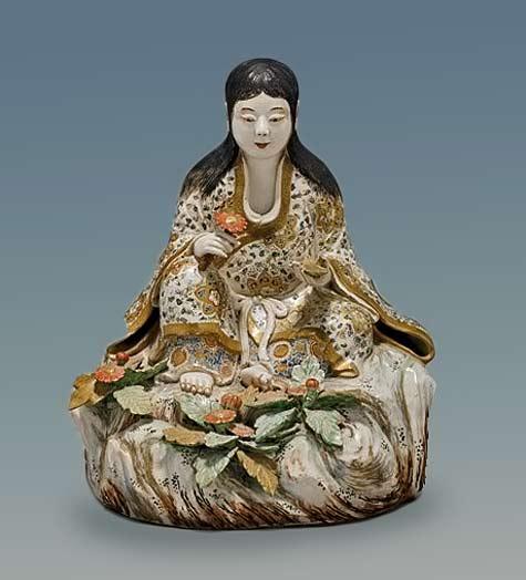 ANTIQUE-SATSUMA-FIGURE-Deity