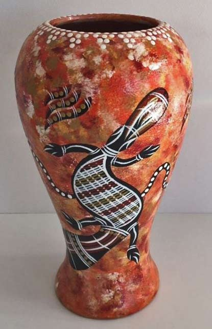 Aboriginal-Vase-Orange-tatiana_lou