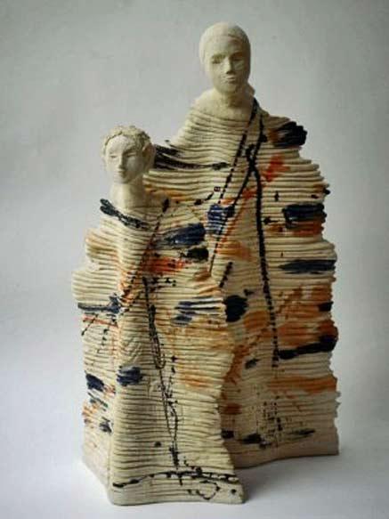 Christine-Ladeveze--french ceramique sculpture