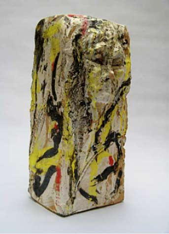 Gaëlle-Jamet - abstract ceramic rectangular sculpture