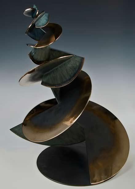 Geisha-Craig-Schaffer abstract cubist sculpture