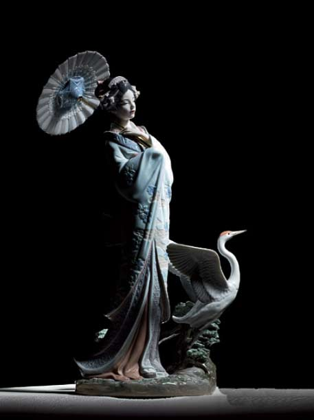 Lladro-Japanese-Portrait---Asian---Decorative-Objects-And-Figurines---Sculpted-By-Miguel-Angel-Santaeulalia---Hand-Made-In-Spain