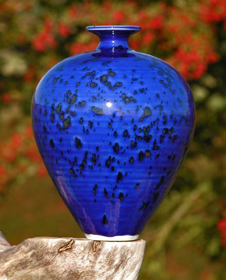 Russell-Akerman-blue-speckled-autumn-'Cobalt-Blue'