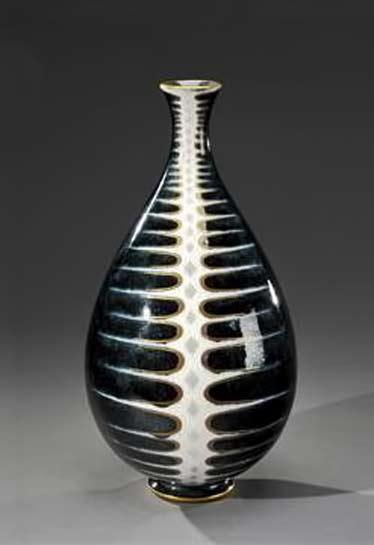 SEVRES-décor-de-PIERRE---AUGUSTE-GAUCHER-Vase-Mayodon-31--1960