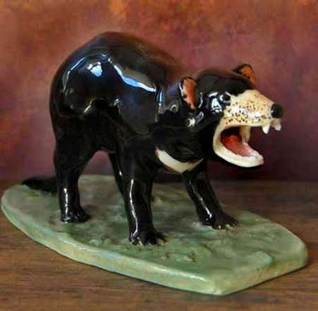 Tassie Devil ceramic ornament