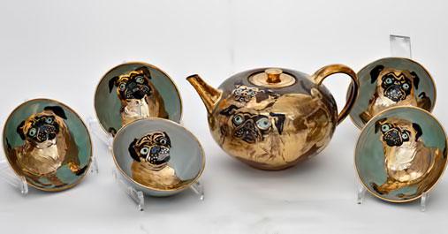 www.hinrichkroeger----the golden pug tea set