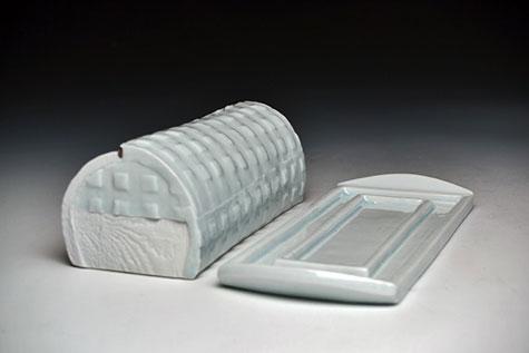 Bryan-Hopkins-Butter-Dish green porcelain