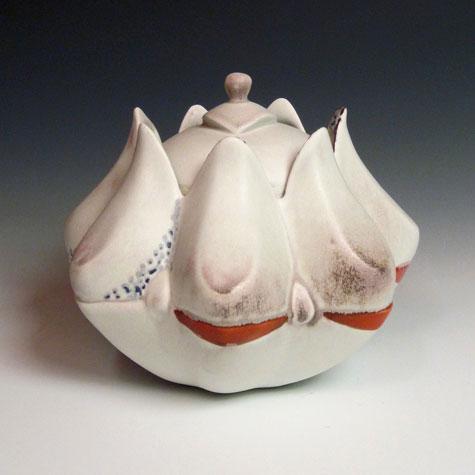 Ceramic Cookie+Jar Deb Schwartzkopf