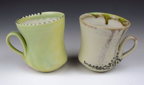 Two mugs - Deb-Schwartzkopf-pottery