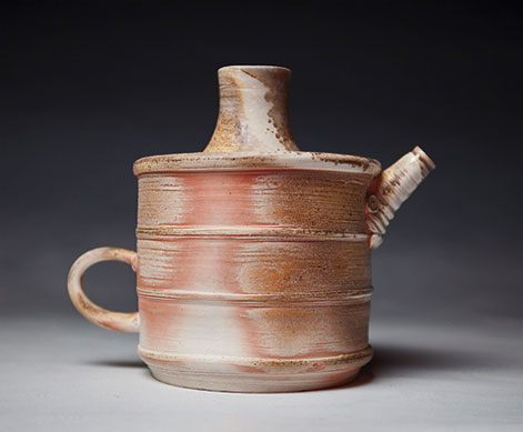 Liz-Hafey---Ceramic-Work rustic tea pot
