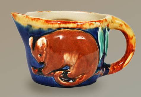 Opussum-Jug---Melrose-Art-Pottery---Bundoora-Homestead-art-Gallery-1932-42 Greg Hill Collection