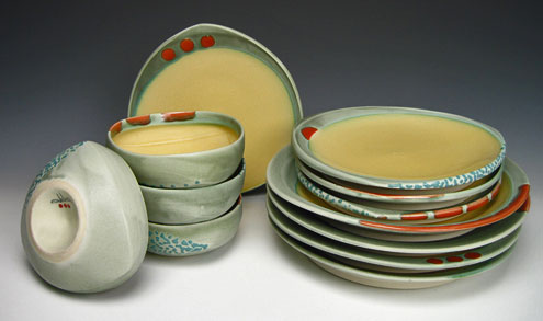 Dinner bowls and plates - Deb-Schwartzkopf