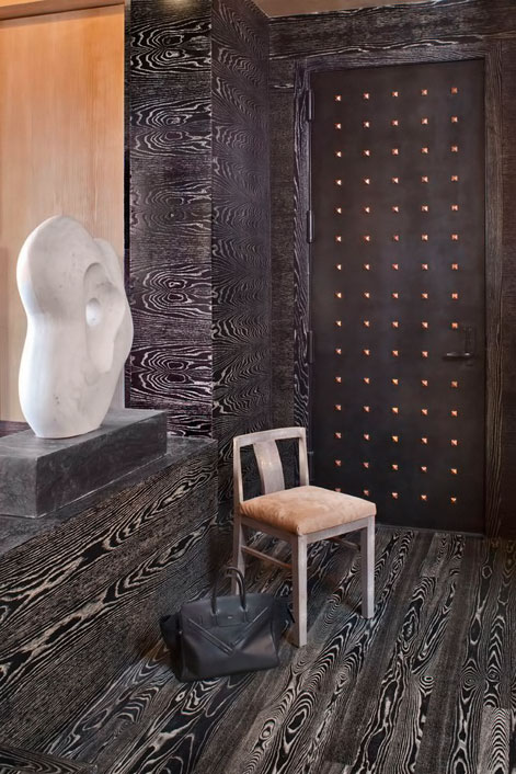 Studded-door--Kelly-Wearstler-Residential-#kellywearstler-#interior-#design
