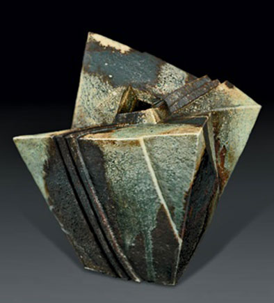Yoshitaka-Hasu abstract vase