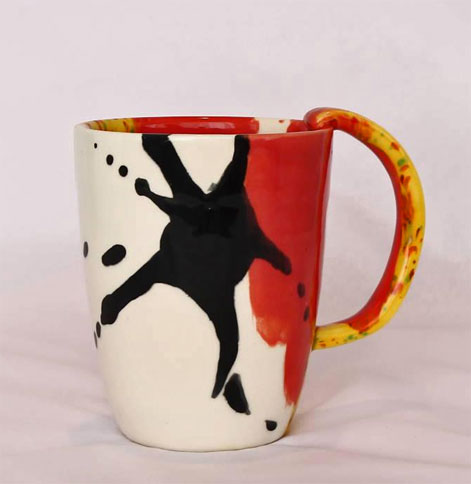 Elnaz Nourizadeh--Collection--ceramic mug