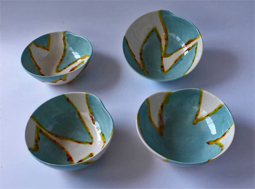 Elnaz-Nourizadeh--Panoply-Gallery Four contemporary bowls