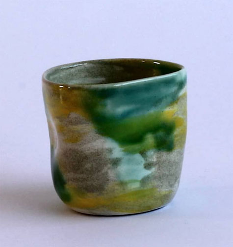 Elnaz-Nourizedah--green mug Nature-Boy-Nrth