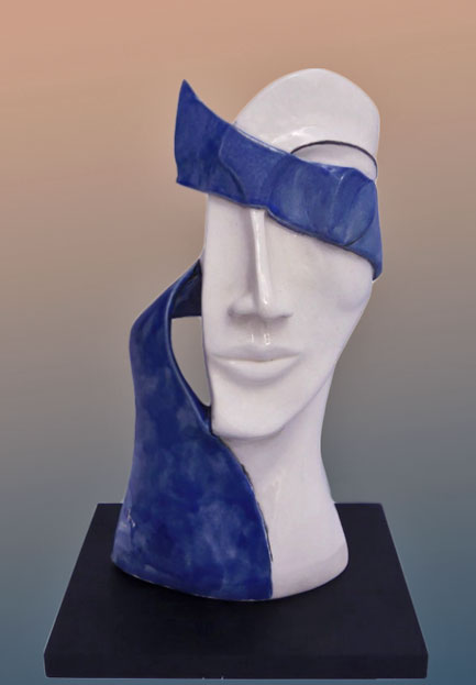 Elnaz-Nourizadeh--Sculpture bust