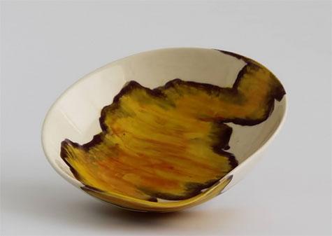 Elnaz-Nourizedah-ceramic bowl--Stockists Mr-Kitly-Gallery