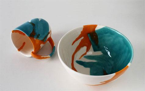 Elnaz-Nourizedah--Tableware--matching mug and bowl