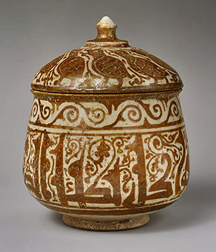 The-Eastern-Mediterranean,-1000–1400-A Pyxis vessel with dome lid