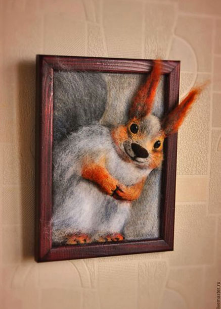Wool-relief-panels-'Squirrel'-Master-Adjika-,-Minsk