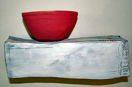 nancyselvin_red bowl on ceramic support base