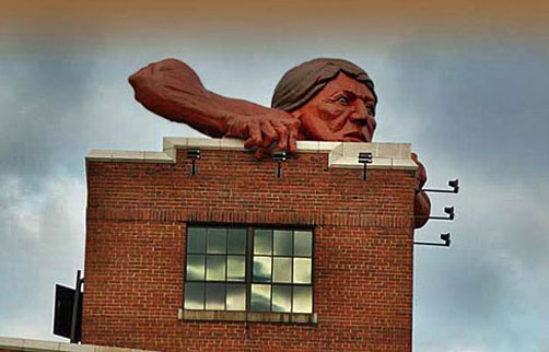 odell---Di-Pasquale-Connecticut---Connecticut-overlooking-the-James-River-tidal-basin,-2010,-the-Historic-Lucky-Strike-building=-