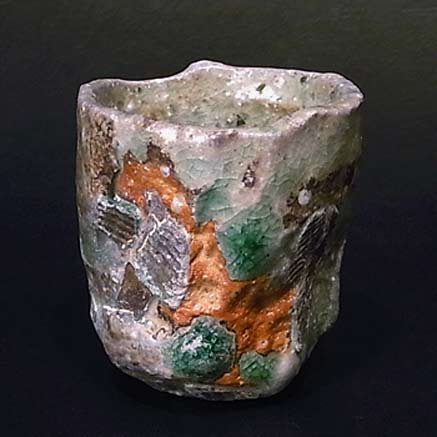 Adam Whatley shino tea bowl