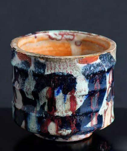 Adam-Whatley-shino footed vessel