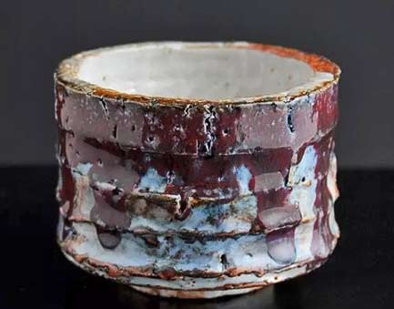 Adam-Whatley-ceramics - ribbed shino bowl
