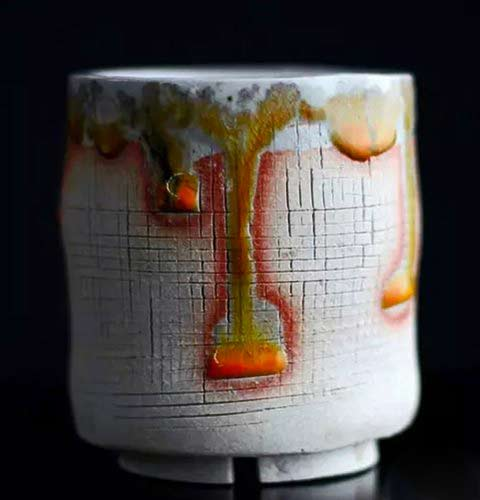 Adam-Whatley-ceramics shino vessel