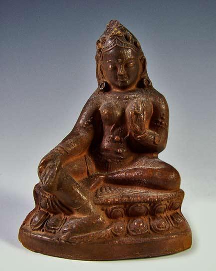 Antique-clay-Tārā-Tsa-Tsa