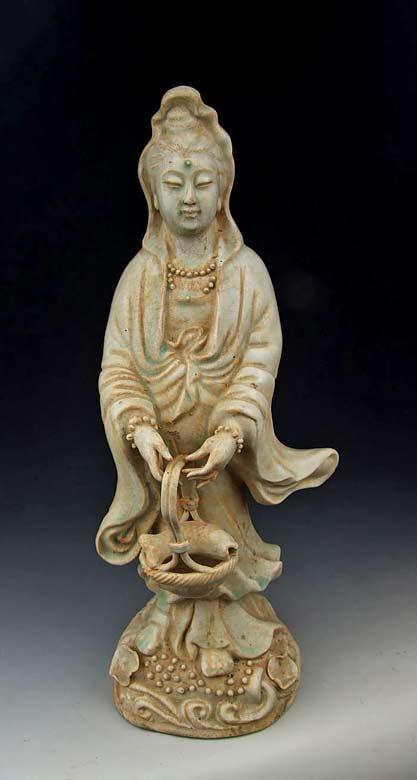 Jingdezhen-Kiln-Qingbai-Glaze-Porcelain-Kuanyin-Buddha-1-Song-Dynasty