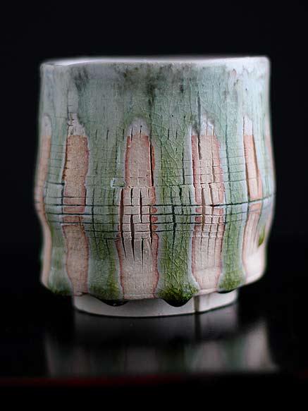 Quin shino footed vessel---Adam-Whatley
