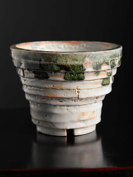 Shino-Bowl-Arvagh stacked clay strip bowl - Adam Whatley