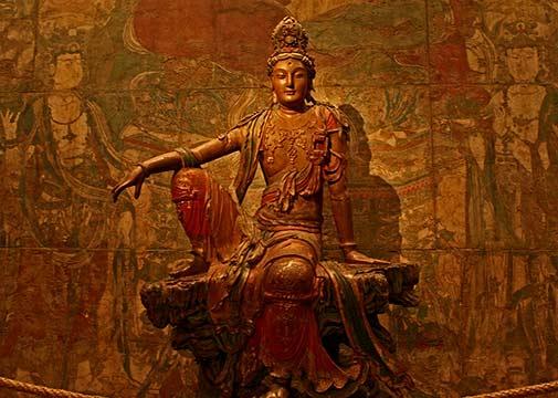 buddha-spiritual-guanyin-bodhisattva-buddhism-Liao-Dynasty-Guan-Yin-statue