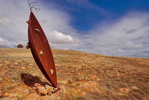 Palmer-sculpture-Biennial-Greg Johns sculptural art