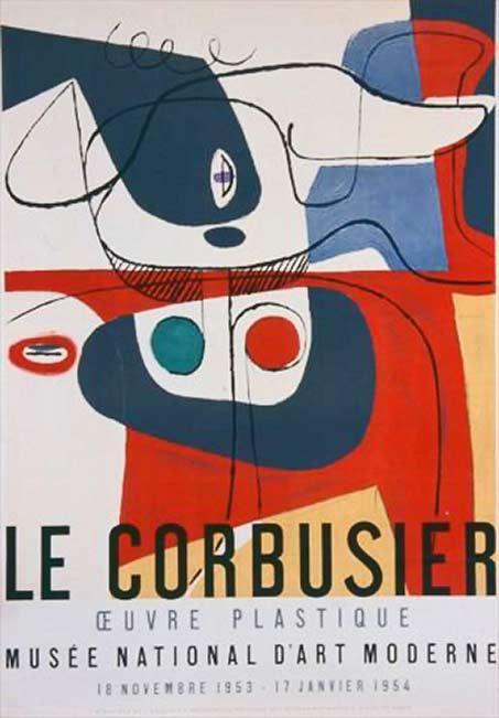 art-poster-le-corbusier absract art