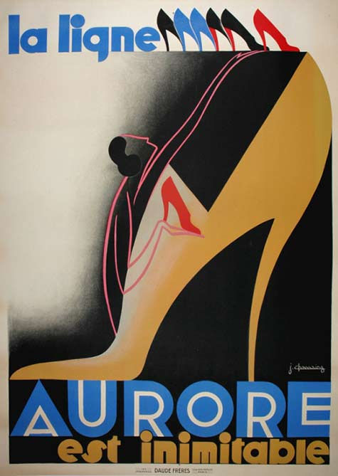 Art Deco Chassaing-poster-1930-sarah-stocking-fine-antique-posters