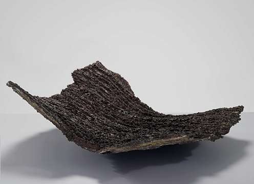 Claudi-Casanovas-Black-Squared-Form,-1990---International-Ceramics---Erskine-Hall---Coe