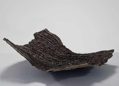 Claudi-Casanovas-Black-Squared-Form,-1990---International-Ceramics---Erskine-Hall---Coe