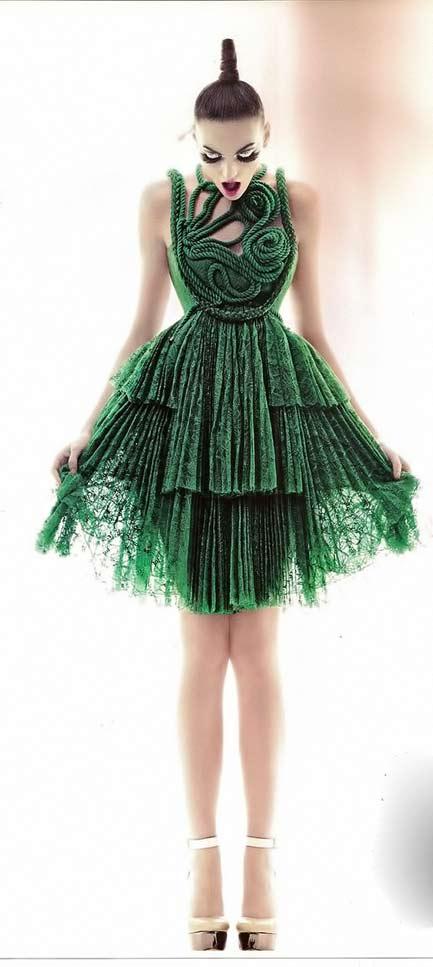 Givenchy green dress