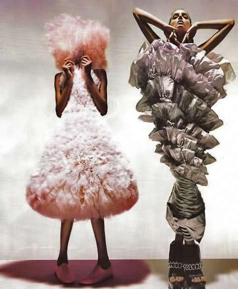 Hussein Chalayan avant garde fashion