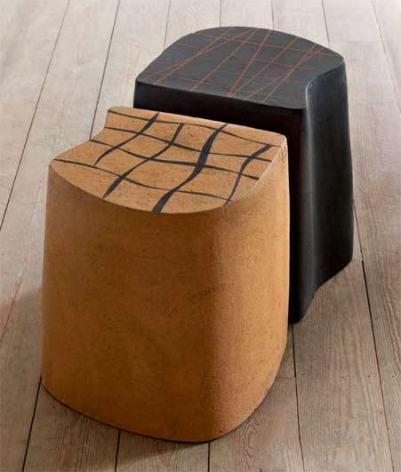 kbo-series - Atelier Vierkant contemporary ceramic floor seating