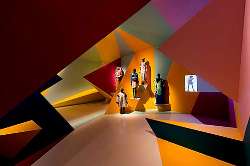 utopian-bodies abstract installation