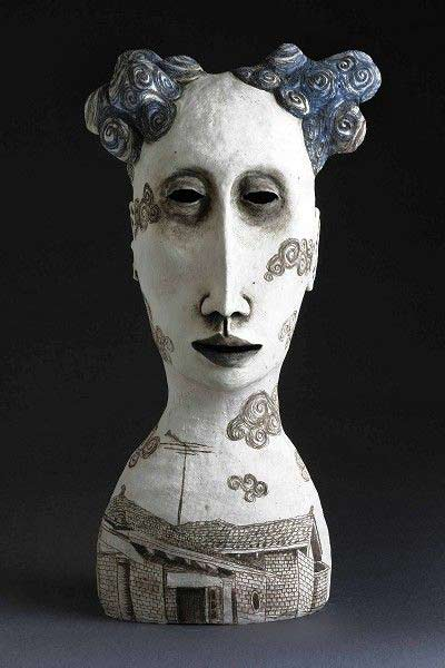 amanda-shelsher-bloom-2009 Quirky bust of a female