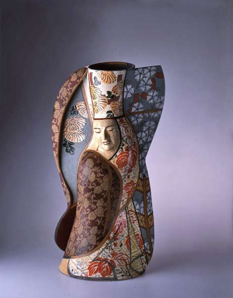 andrea-gill-ceramic vessel with relief face