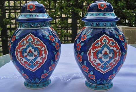 blue-lamp-base-pair-of-iznik-lamp-bases-in-blue-cobalt-pattern-underglazed-earthenware-biscuit