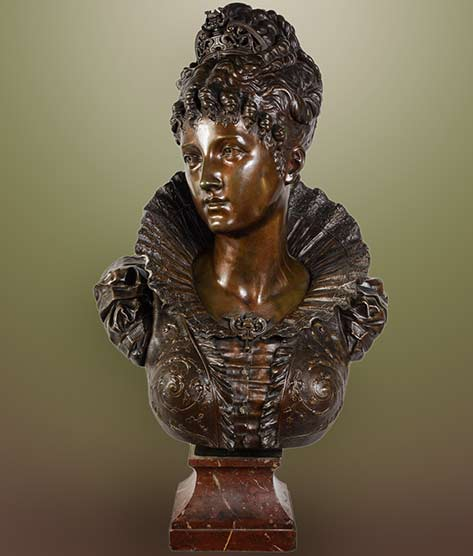bust-in-brown-patina-bronze-representing-a-queen-renaissance